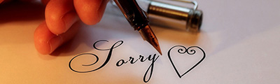 The right way to apologize using 6 key elements